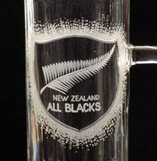 DEKOR RAGBY TEAM ALL BLACKS NEW ZELAND